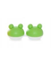 Pojemnik do soczewek Qcase - zielona żabka