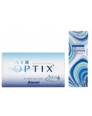 Air Optix Aqua z płynem Horien 360ml