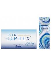 Air Optix Aqua z płynem Horien 120ml